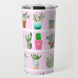 Shelfie cactus print Travel Mug