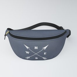 Compass arrows Fanny Pack