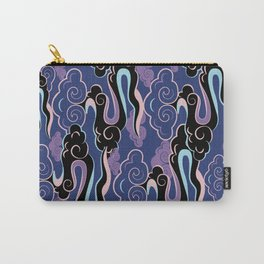 Colourful purple, pink, aqua clouds at twilight Carry-All Pouch