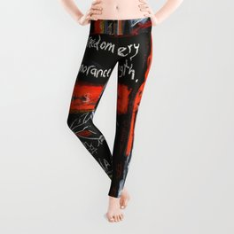 Everybody Wants to Rule The World Leggings