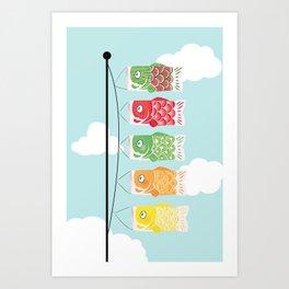 Furutsukoi Art Print