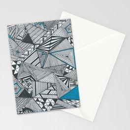 Geometric and triangular Stationery Cards