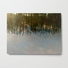The ice horizon Metal Print