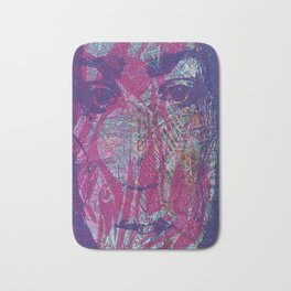 Madness sinks even the strongest angel Bath Mat