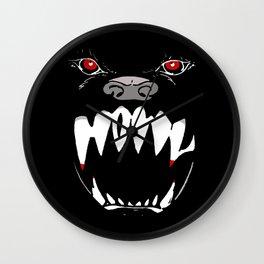 Howl - dark apparel variant Wall Clock