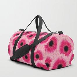 Gerbera Pink flower pattern design Duffle Bag
