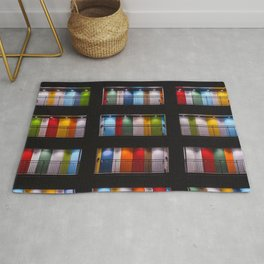 One Night in Apartment 2B Color Photographic Print Rug