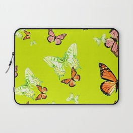Tiger and Butterflies Laptop Sleeve