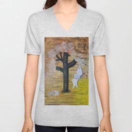 Tree of Life Unisex V-Neck