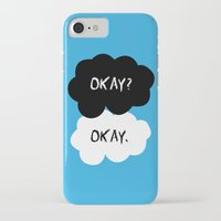 okay iPhone & iPod Cases featuring Okay by alboradas