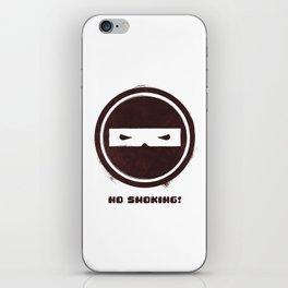 no smoking iPhone Skin