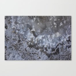 Crystallized Canvas Print