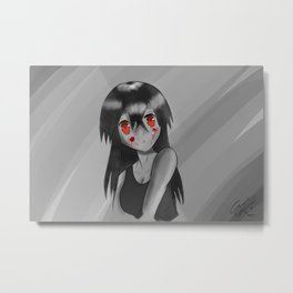 "Akame from ""Akame Ga Kill!""/""Akame Ga Kiru!"" Metal Print"