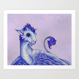 Baby Dragon Art Print