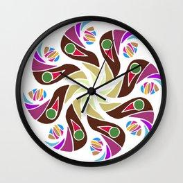 Mandala native Wall Clock