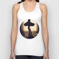 dancer Tank Tops featuring Dancer by Kameron Elisabeth