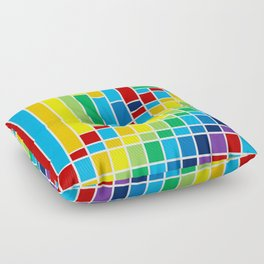 Fuzz Outline Floor Pillow