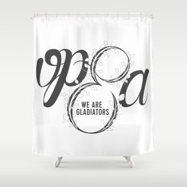 Scandal - Olivia Pope & Associates Shower Curtain