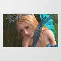 fairy Area & Throw Rugs featuring Fairy by Design Windmill