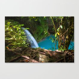 The Kawasan Falls, Cebu, Philippines Canvas Print