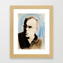 Claude Nougaro Framed Art Print
