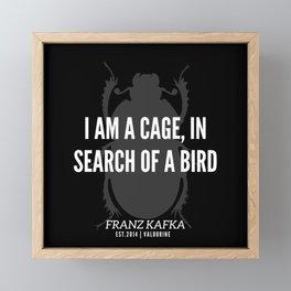 3 |  Franz Kafka Quotes | 190517 Framed Mini Art Print