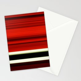 red-girl Stationery Cards
