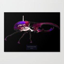 Dynastes Wirelessus Beetle Canvas Print