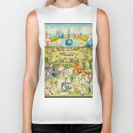 The Garden of Earthly Delights by Bosch Biker Tank