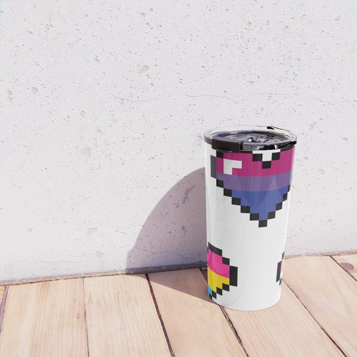 8Bit Love Mug Travel Mug