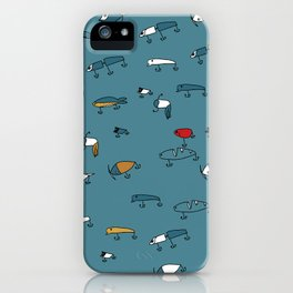 Blue Lures iPhone Case