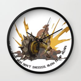 Junky Wall Clock