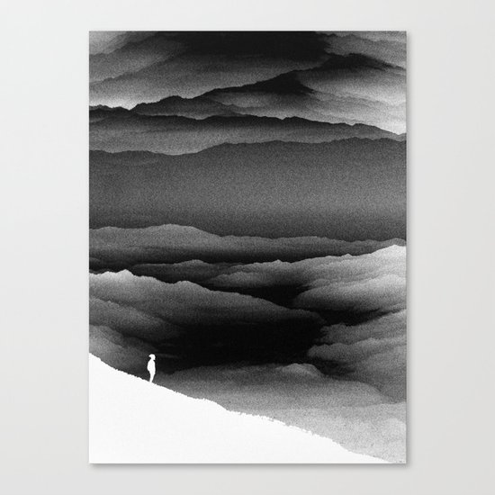Solar Noise Isolation Series Canvas Print
