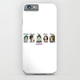 Shecience Franklin Hypatia Curie Lamarr Lovelace iPhone Case