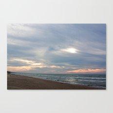 Cloudset Canvas Print