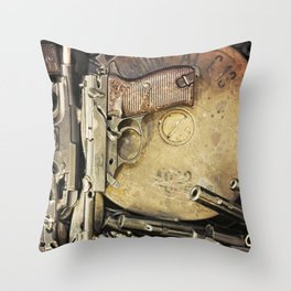 An art of Peacemaking Throw Pillow