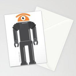 eye robot Stationery Cards