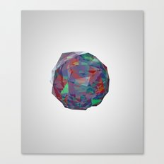 color crystal I Canvas Print