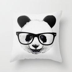 Mr. Panda Throw Pillow