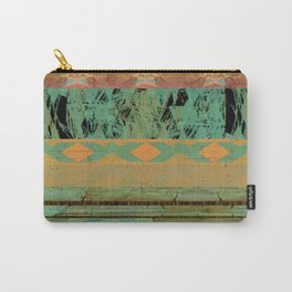 381 8 Rustic Tribal Southwest Pattern Carry-All Pouch