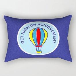Get High On Achievement | Goal Getters Rectangular Pillow