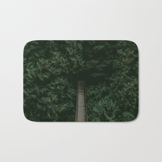 Into the Wilderness Bath Mat