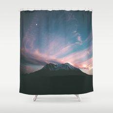Mount Saint Helens III Shower Curtain