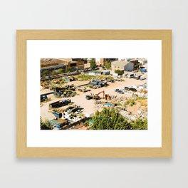 Landfill Framed Art Print