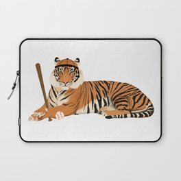 Baseball Tiger Laptop Sleeve