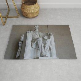 President Lincoln Statue - Washington DC Rug