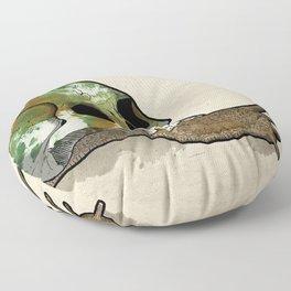Slow Death Floor Pillow