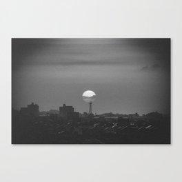 evening sun / Japan Canvas Print