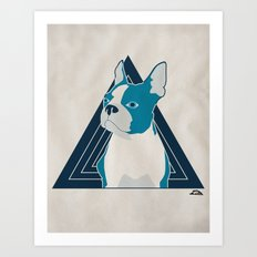 In Dog We Trust. Art Print