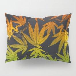 Leafy Rasta Royal Stain Pillow Sham